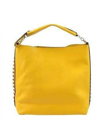 Damska Torebka ekologiczna A4 Glamour 7712 żółty