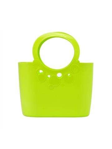 Damska Torebka ekologiczna Gregorio Lily ITLI300 Shopper Bag limonka