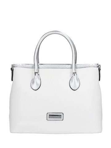 Damska Torebka ekologiczna Pierre Cardin 4042 RX54 biały + srebrny