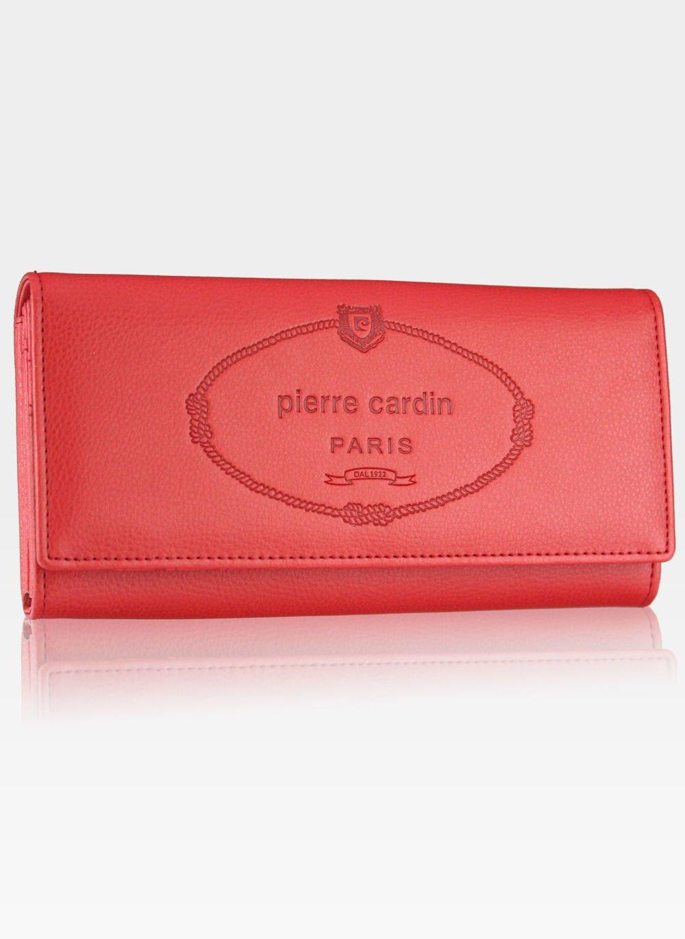 01ef25bfa68cb Luksusowy Modny Portfel Damski Pierre Cardin Koral Pierre Cardin ...