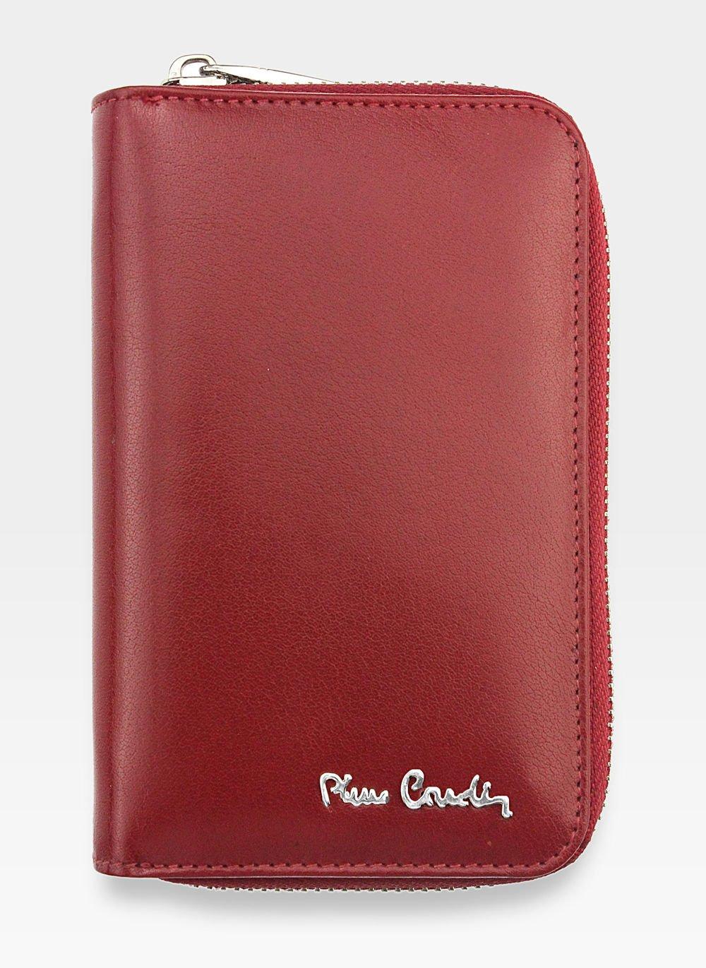 4b609397817f8 Portfel Damski Pierre Cardin Skórzany Czerwony 520.1 503 YS520.1 503 ...