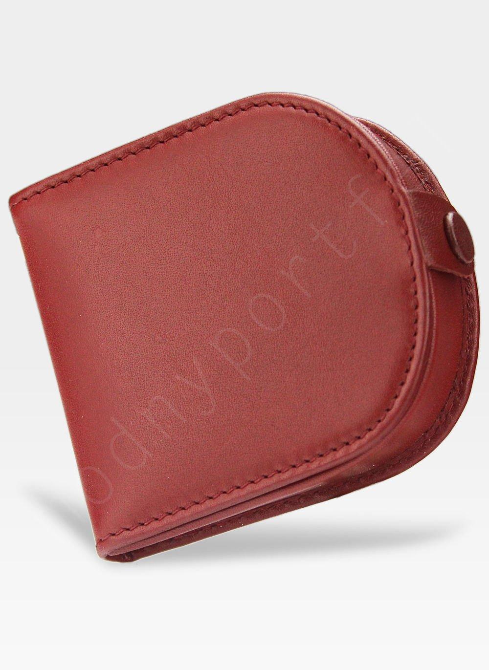 08cafa100e771 Kliknij, aby powiększyć · Visconti Podkówka Portfel Męski Skórzany Wysokiej  Jakości Skóra Czerwony