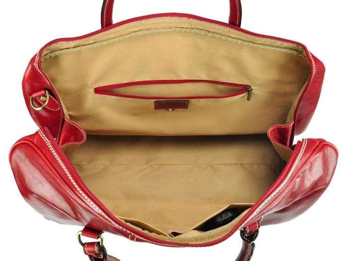 A4 Gregorio SKI-TB-02 czerwony