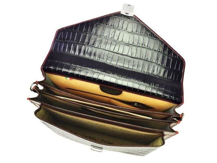 Teczka Aktówka A4 Pierre Cardin 1027 RM02 COCCO czarny