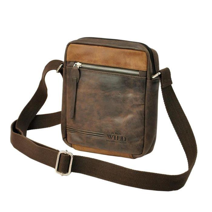 Always Wild BAG-3-HB ciemny brąz