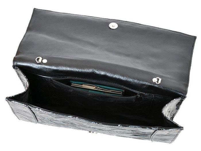 Damska Torebka Skórzana Voyager 372B ciemny brąz