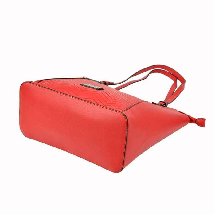 Damska Torebka ekologiczna A4 Pierre Cardin 93931 IZA319 czerwony