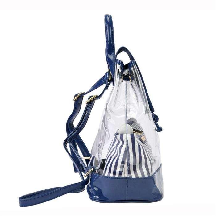 Damska Torebka ekologiczna Pierre Cardin 3265 IZA331 niebieski