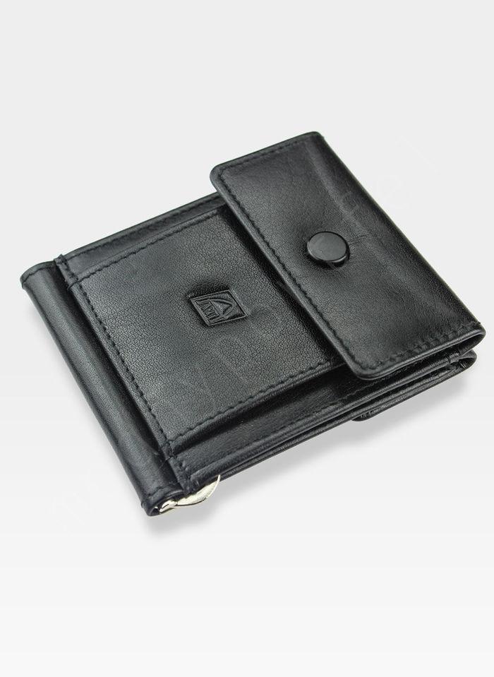 Dolarówka Portfel Męski A-Art Elegancki Klasyczny 4108/54bk Czarny