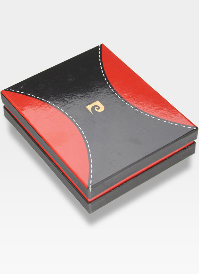 Mały Cienki Portfel Męski Pierre Cardin Skórzany Tilak37 8824  RFID