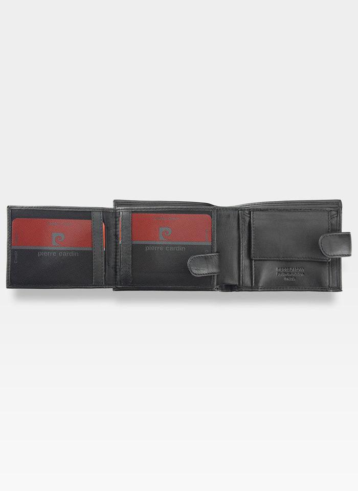 Męski Portfel Oryginalny Pierre Cardin Skórzany Klasyczny Tilak08 323A