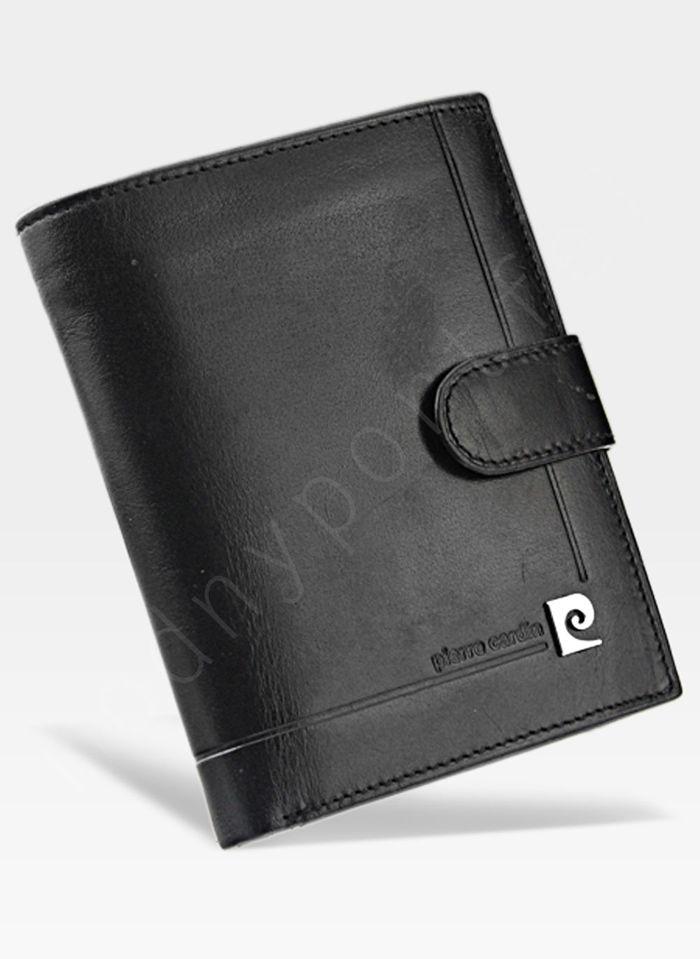 Oryginalny Portfel Męski Pierre Cardin Zapinany Skórzany YS507.1 331A