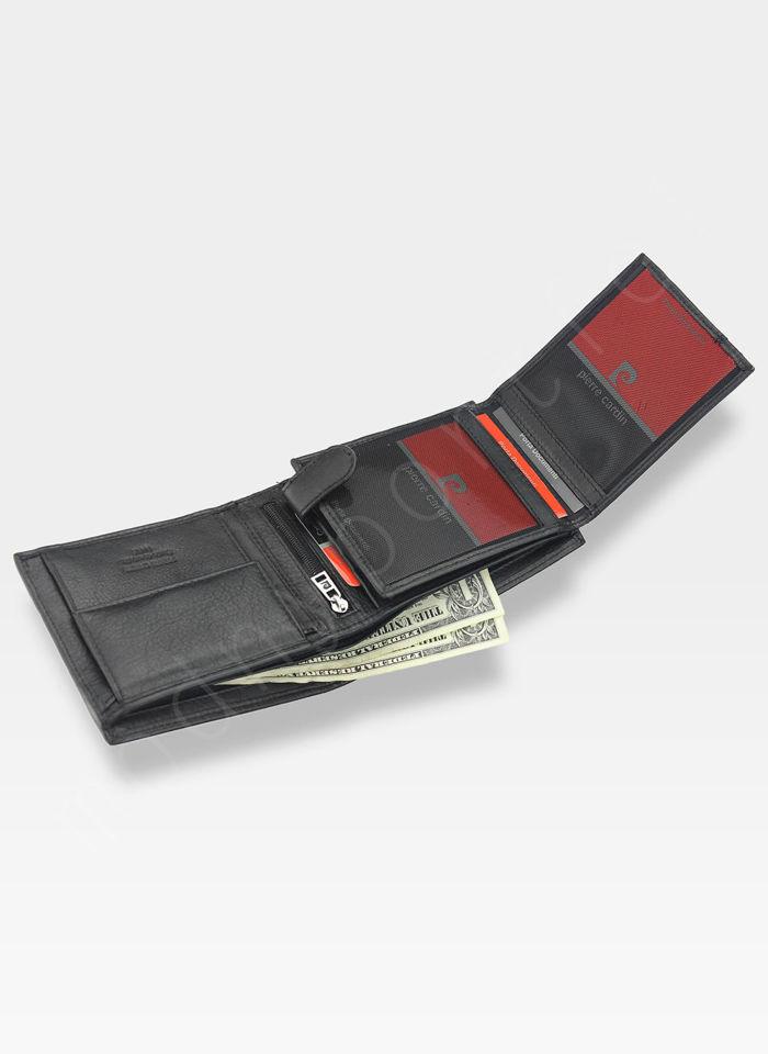 Pierre Cardin Męski Portfel Skórzany Modny Prezent Tilak25 325 RFID Pudełko