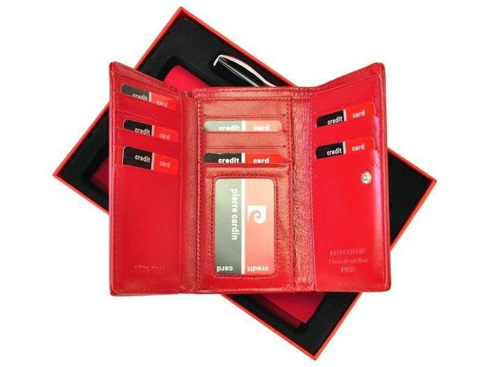 Pierre Cardin ZG-24 czerwony