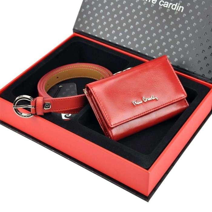 Pierre Cardin ZG-W-01 czerwony