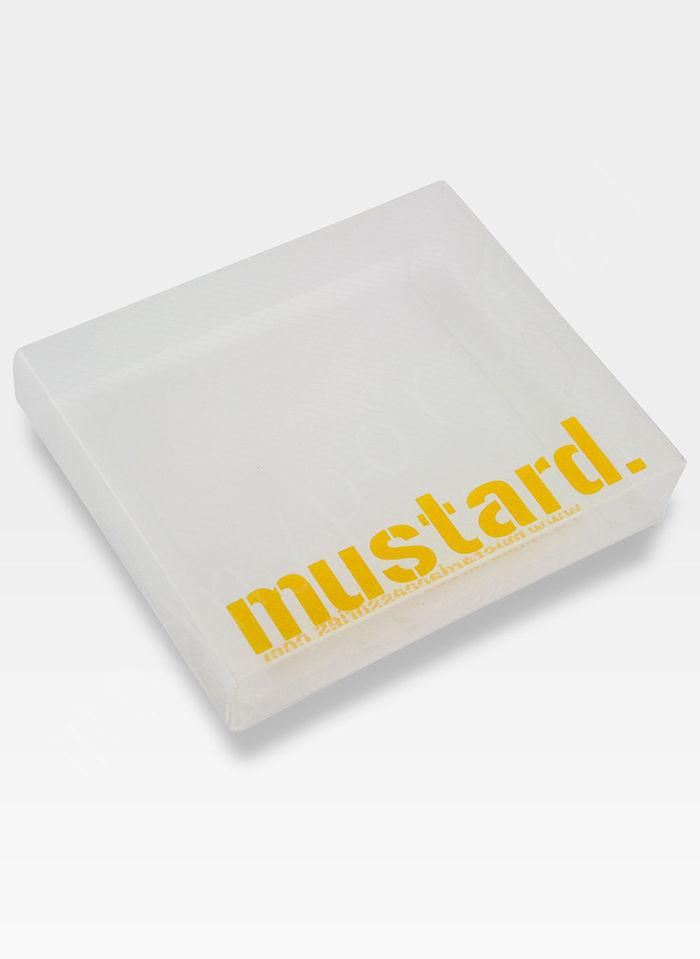 Portfel Męski Mustard SWAG SLIM Na Prezent