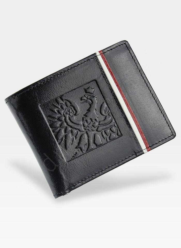 Portfel Męski Peterson Skórzany Orzeł Polska 315.02/2