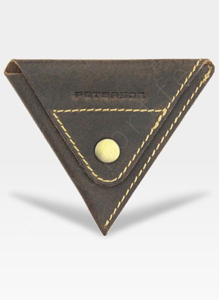Portfel Męski Peterson Z osobną Bilonówką SLIM System RFID STOP