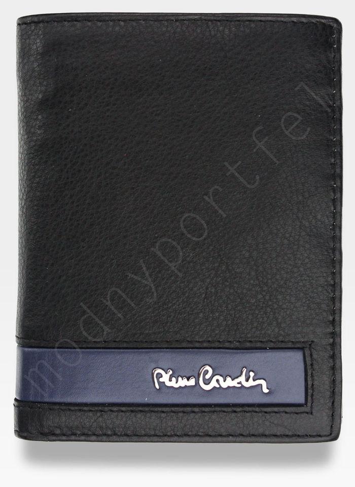 Portfel Męski Pierre Cardin Skóra Naturalna Pionowy Pojemny Tilak26 331 RFID