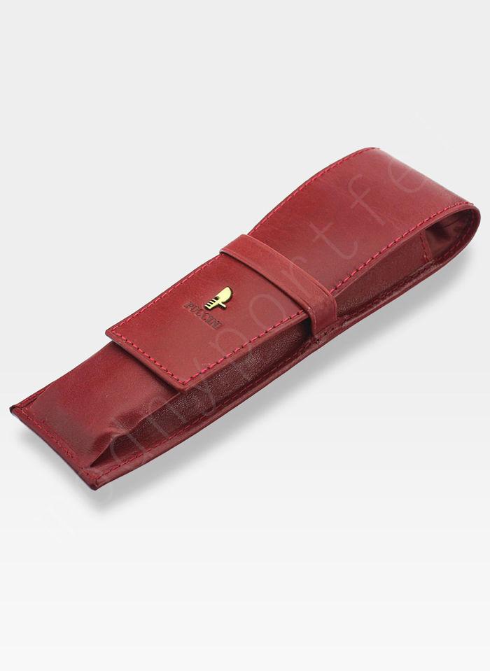 Skórzane Etui Na Długopis PUCCINI Czerwone 1808P