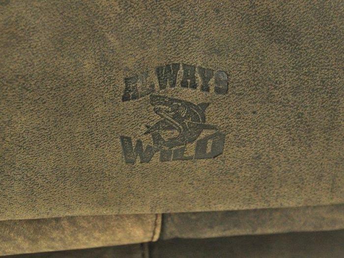 Teczka Aktówka A4 Always Wild C48.0399 CBH ciemny brąz
