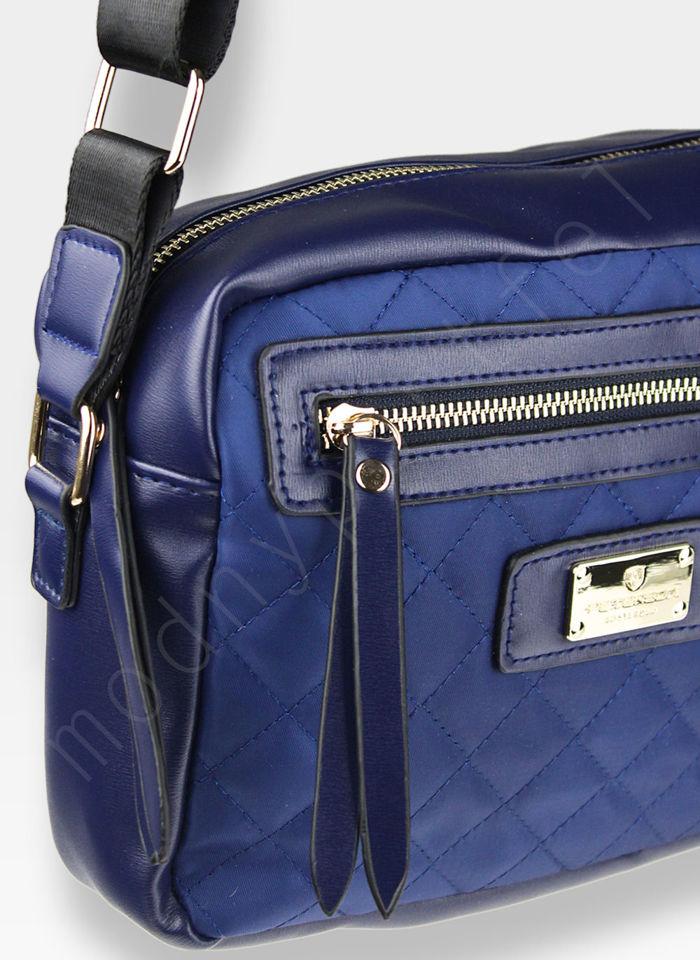 Torebka Klasyczna na ramię Peterson Noble 7 Niebieska