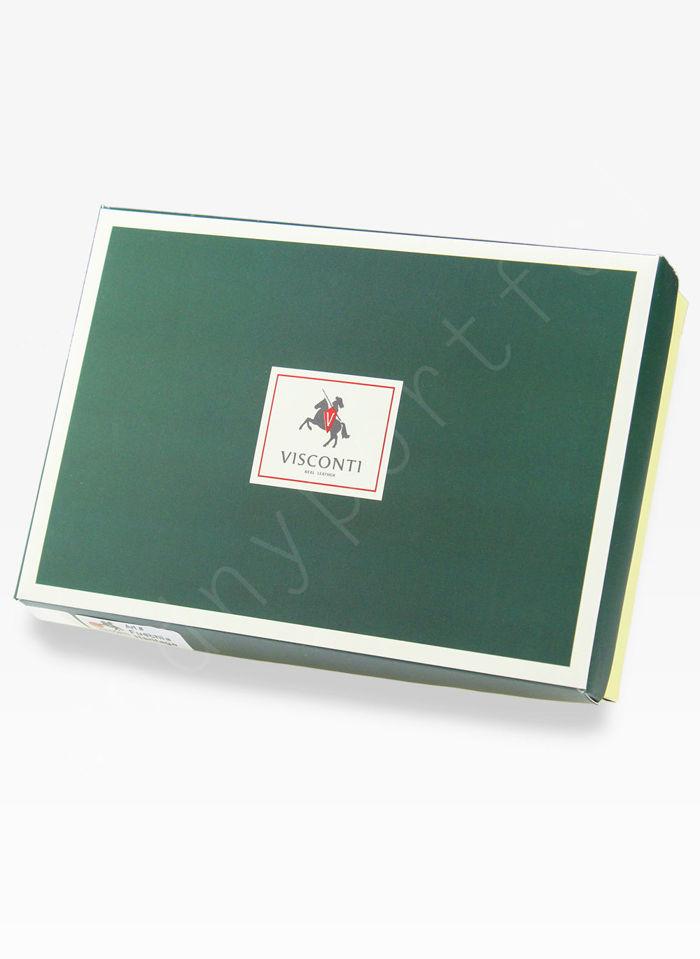Visconti Portfel Damski Skórzany Heritage HT32 Brązowy
