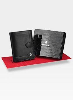 Zapinany Portfel Męski Pierre Cardin Skórzany Premium YS507.1 326A